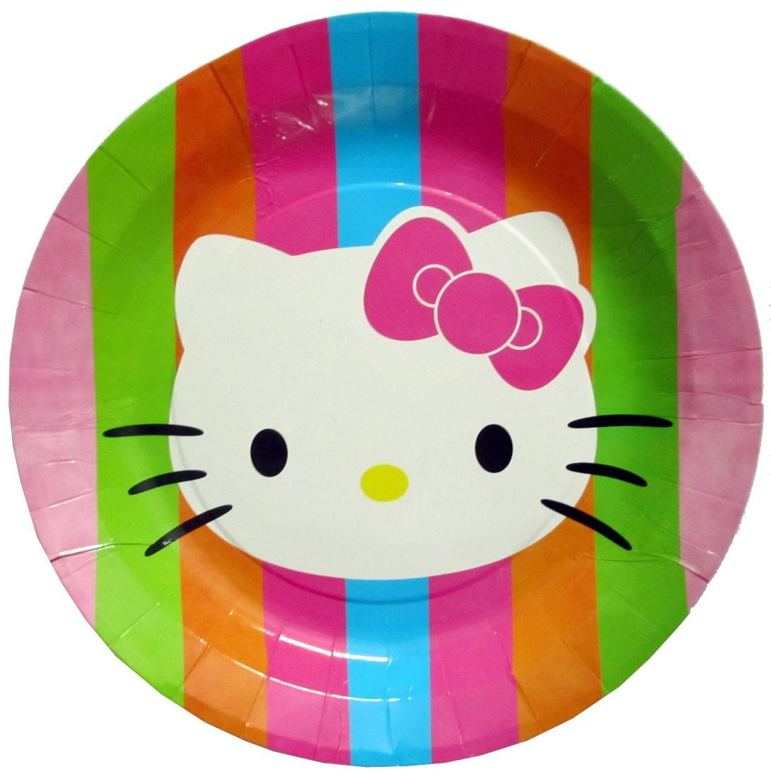 Hello Kitty Paper Plates (Pack of 10)