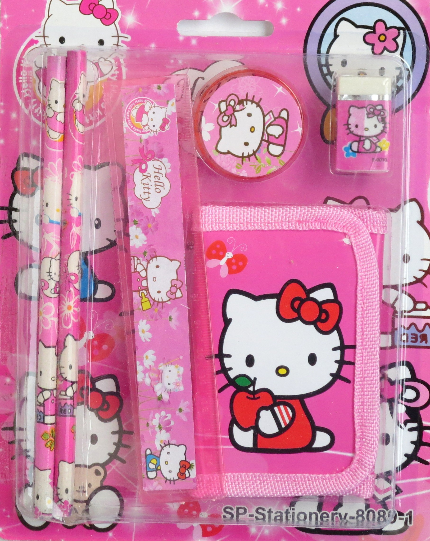 Hello Kitty  Back To School Stationery Set (6 in 1)