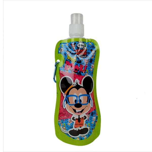 Disney Mickey Collapsible Water Bottle (Set Of 4)