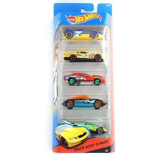 Colorful Hot Wheels Cars - (Pack Of 5)
