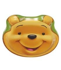 Winnie the Pooh Party Plates -Pack of 8