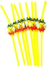 Winnie the Pooh Straws- Pack of 8