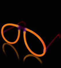 Premium Glow Glasses Set (Orange)