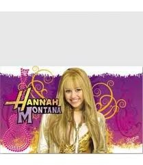 Hannah Montana Party Table Cover