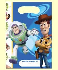 Toy Story Party Loot Bags (Pack Of 8)