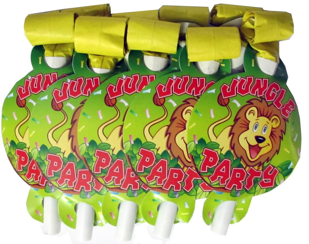 Smiling Safari Horns (Pack Of 10)