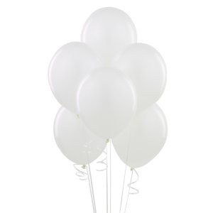 Snow White Latex Balloons (Pack Of 10) - 12""