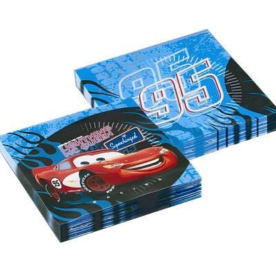 Cars Paper Napkins -Pack of 20 - Large