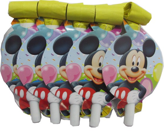 Mickey Mouse Party Blow Horns (Pack of 10)