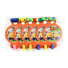 Minions Theme Blowouts - Pack of 10