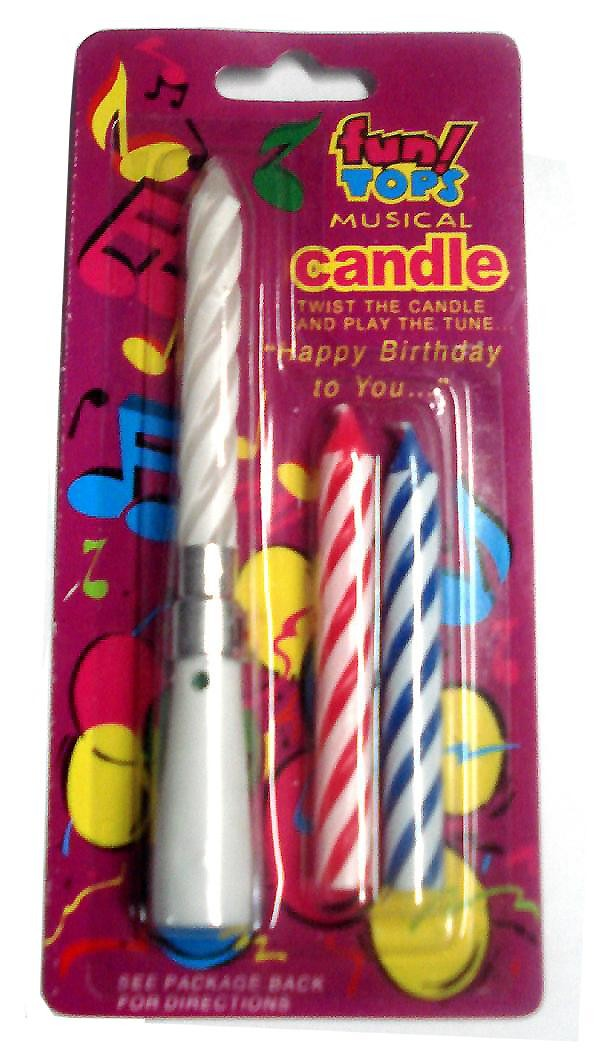 Buy Musical Candles Online Birthday Party Accessories India