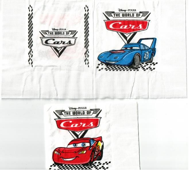 Cars Paper Napkins -Pack of 16 - Small