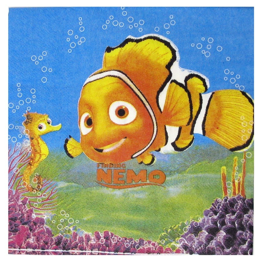 Nemo Party Napkins (Pack Of 10)
