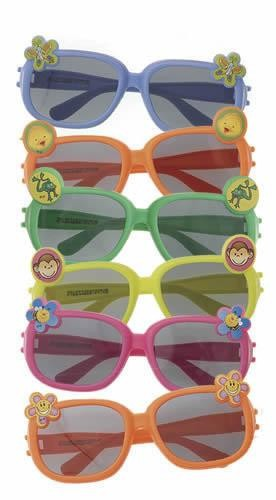 Party Novelty Glasses With Character (Pack Of 6)