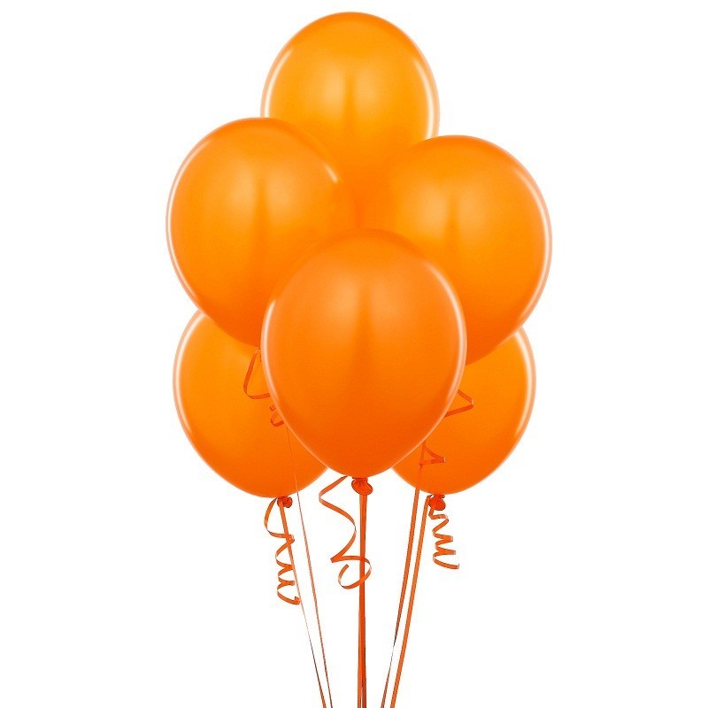 Goldfish Orange  - Latex Balloons (Pack Of 10) - 12""