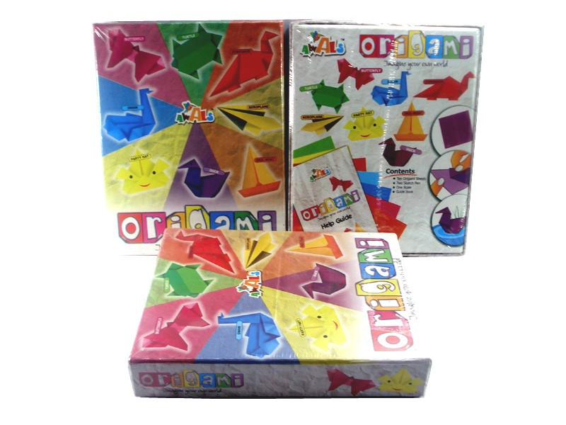 DIY Kids Game - Origami