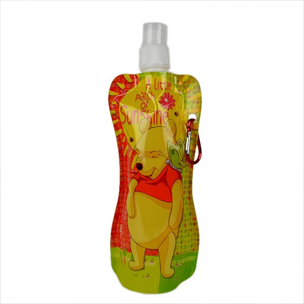 Disney Winnie The Pooh Collapsible Water Bottle (Set Of 4)