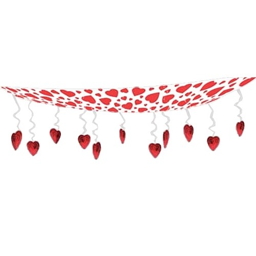 Key To Your Heart Valentines Day Party Ceiling Decor