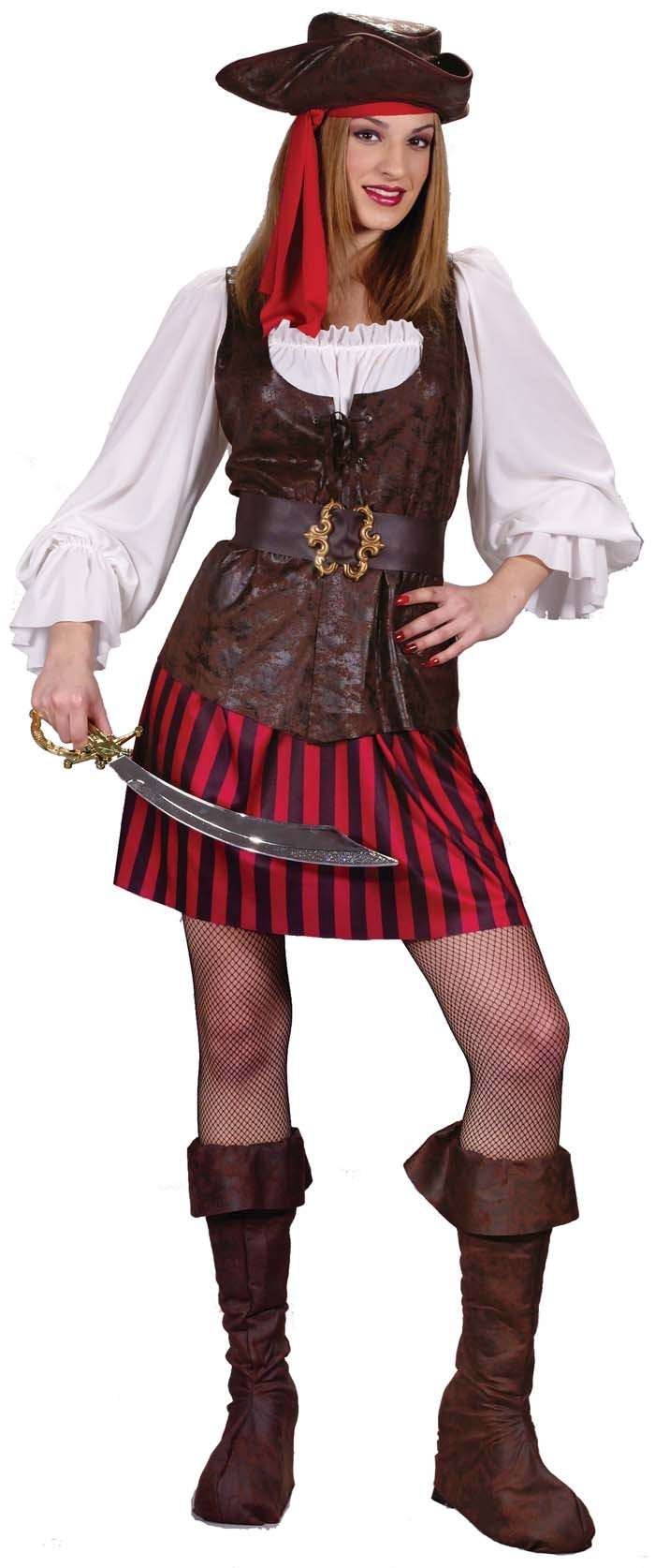 High Seas Buccaneer Pirate Costume For Woman