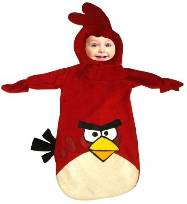 Red Angry Birds Costume For Babies