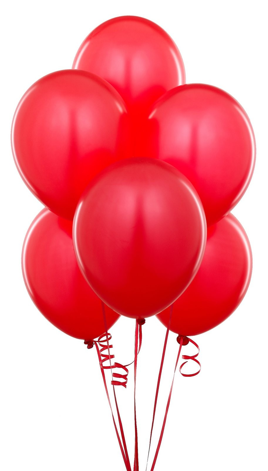 Red Latex Balloons (Pack Of 10) - 12""
