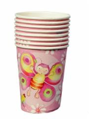 Birthday Girl Party Paper Cups -Pack of 8