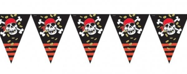 Jolly Roger Pirate Pennant Banner