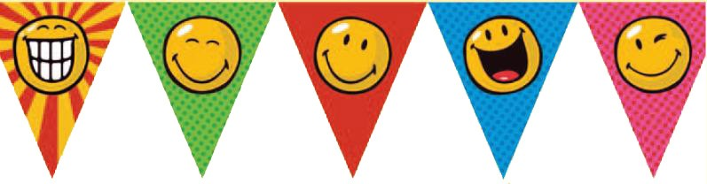 Smiley World Party Banner