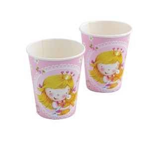 Sweet Little Princess Party Paper Cups -Pack of 8