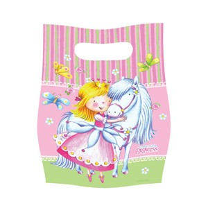 Sweet Little Princess Party Loot Bags -Pack of 6
