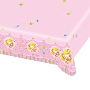 Sweet Little Princess Party Table Cover