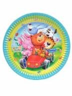 Teddy & Friends Party Paper Plates -Pack of 8