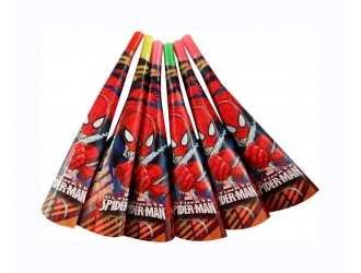 Spiderman Party Horns (Pack of 6)