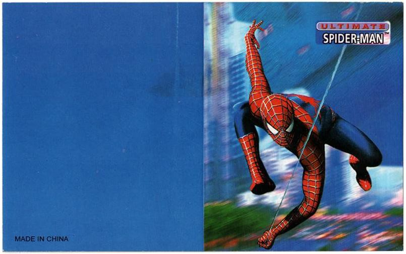 Spiderman Invitation Cards - Pack of 8