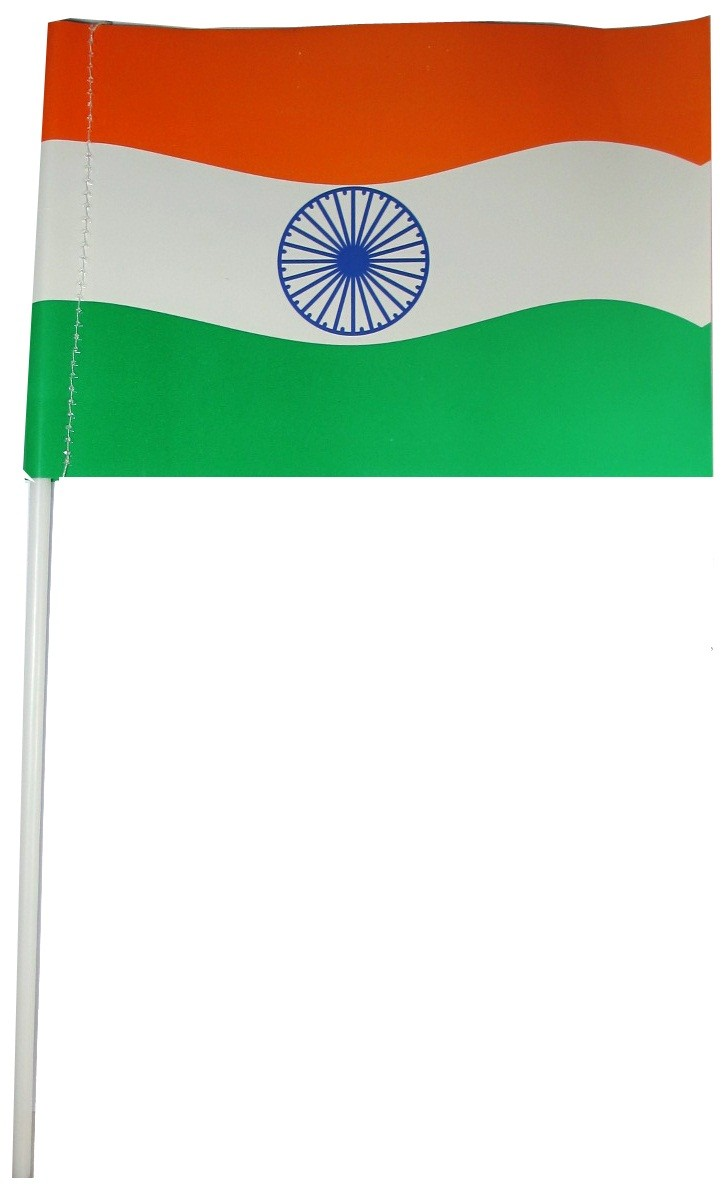 Indian Flag (Large) - Pack Of 10