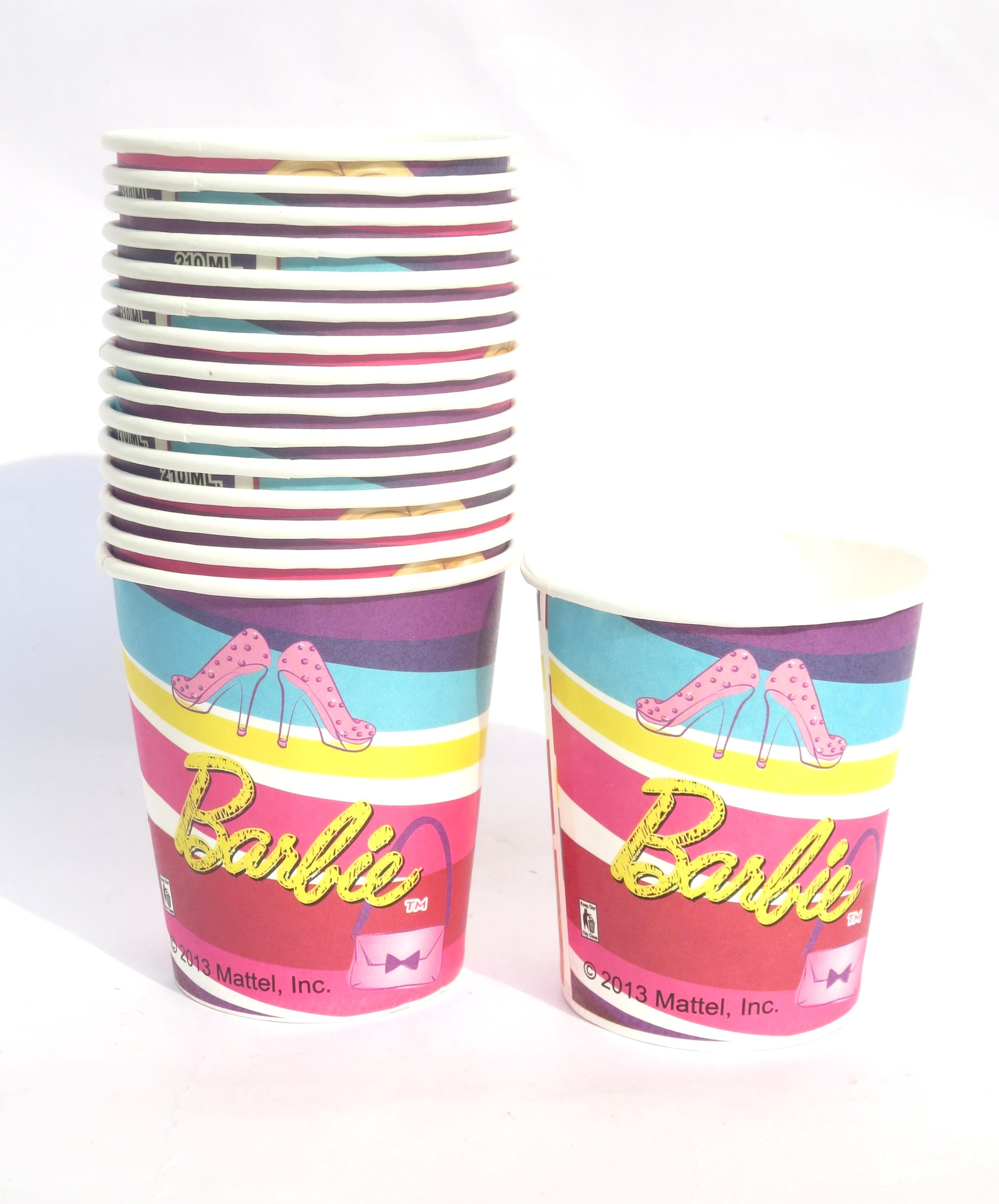Barbie Party Cups (Pack Of 8)