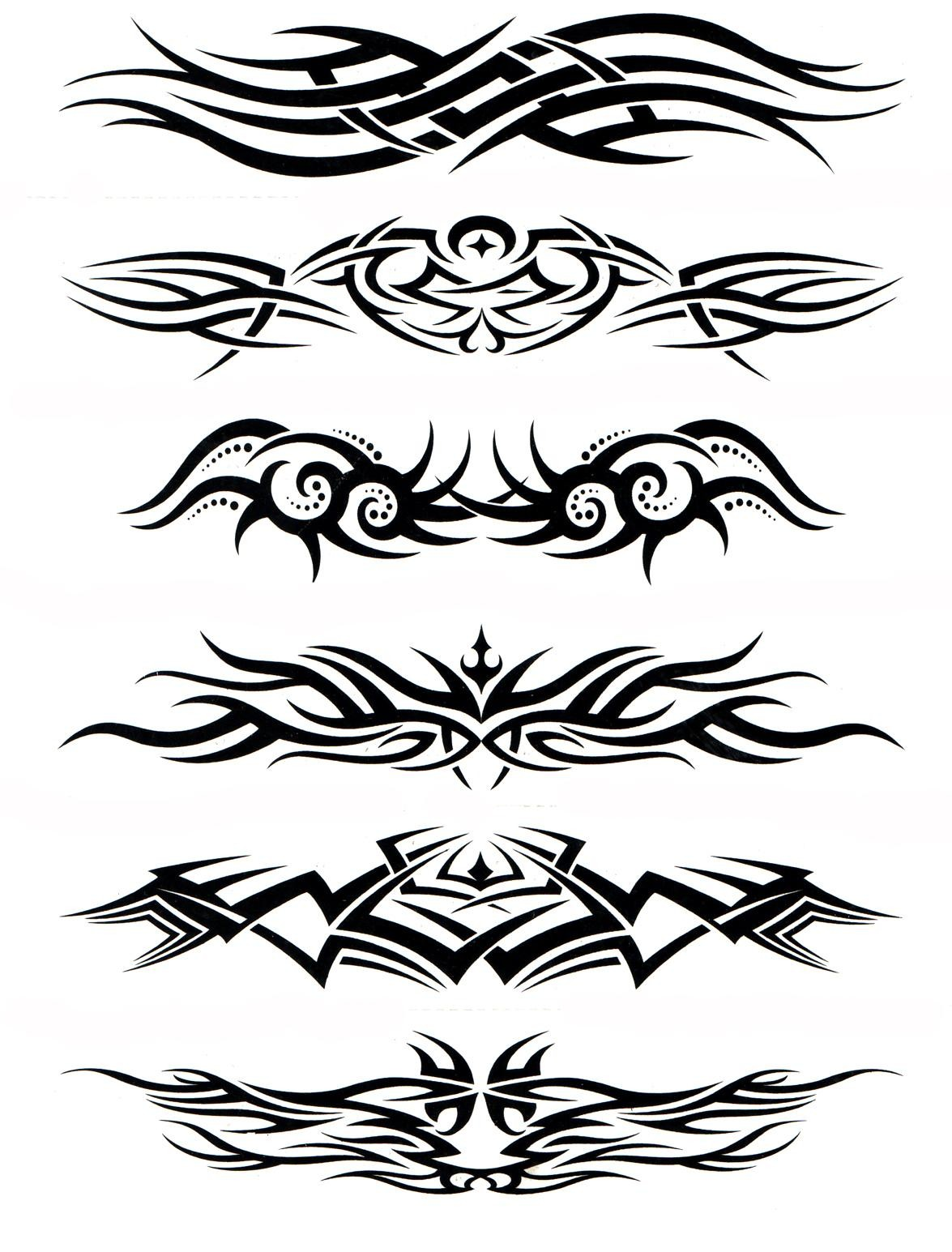 Water Transfer Temporary Tattoos (5 in 1) - 2
