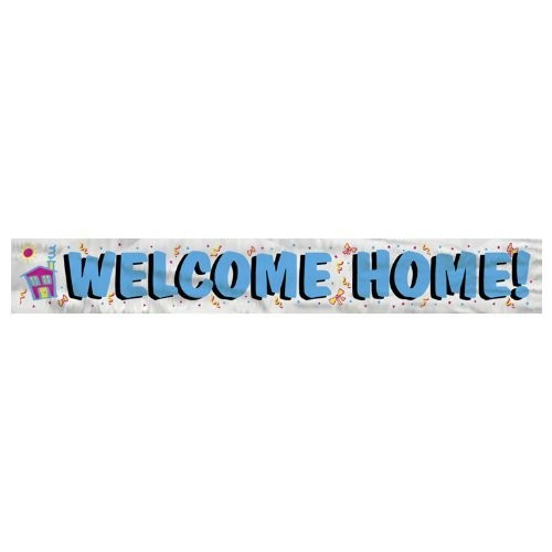 Welcome Home Party Banner
