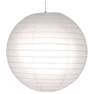 16 inch Even Round Paper Lantern (White) - 1 Piece