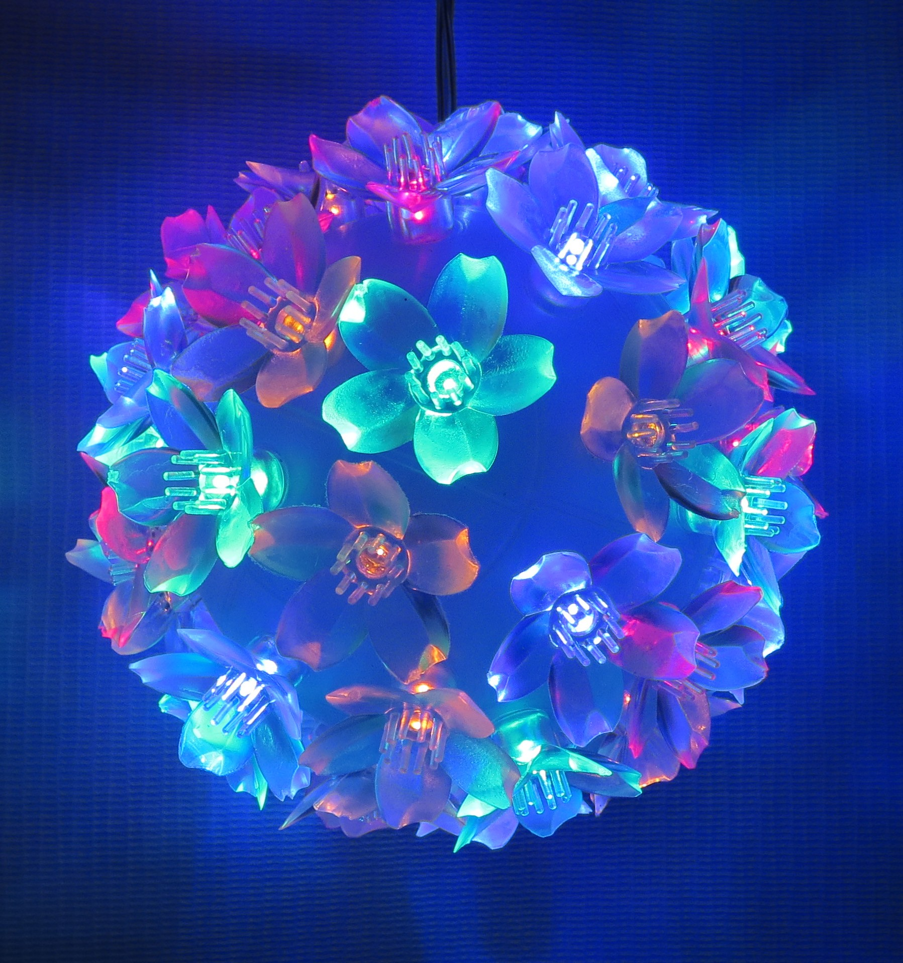 Multicolored LED Ball Decorative Lights
