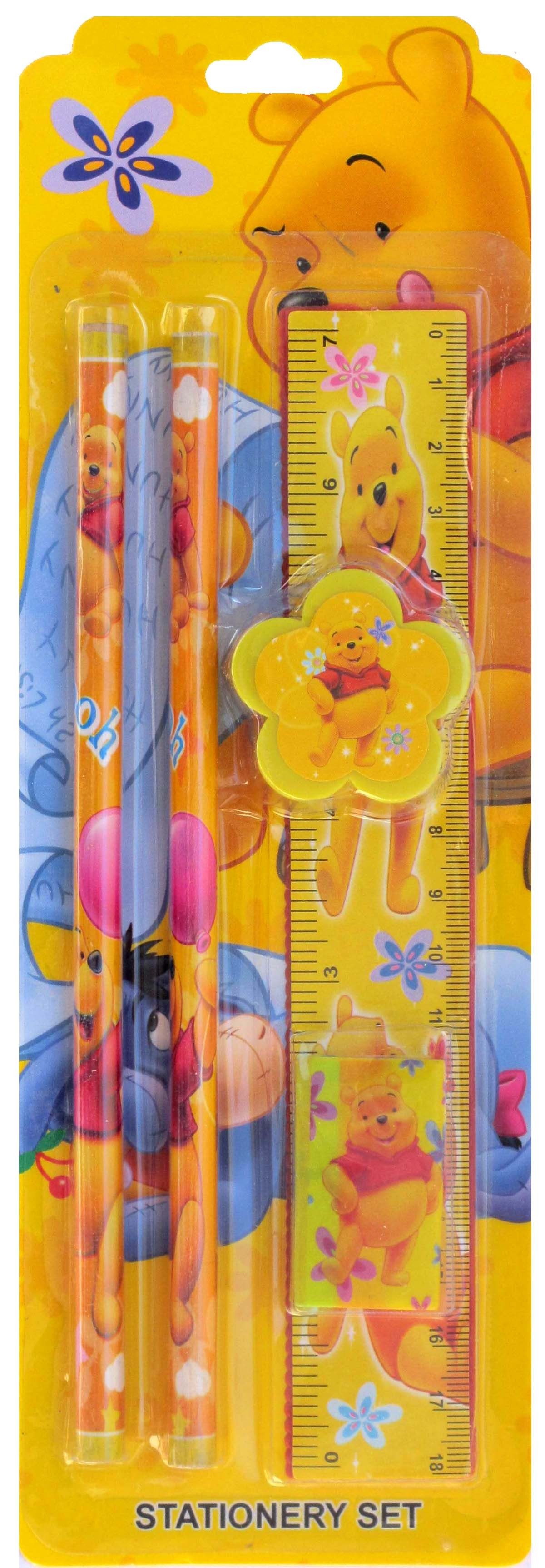 Winnie The Pooh Pencil Stationery Set (5 in 1)