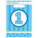 1st Birthday Cupcake Boy Party Loot Bags - Pack Of 8