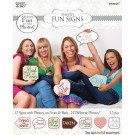 Game Bridal Shower Signs (Pack Of 12)