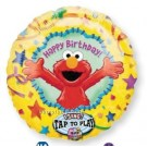 Elmo Happy Birthday Singing Foil Balloon - 28""