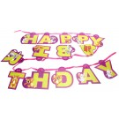 Tom and Jerry Happy Birthday Party Banner