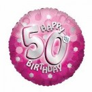 Number 50th Foil Balloon - 18in