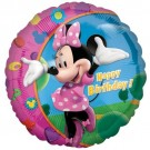 Minnie Happy Birthday Foil Balloon - Buy Minnie Happy Birthday Foil Balloon Online