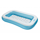 Intex-Rectangular Baby Pool - Blue (7 Feet)