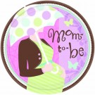 Great Expectations Baby Shower Paper Plates (Pack Of 18)