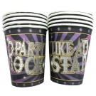 Rockstar Party Paper Cups (Pack OF 10)
